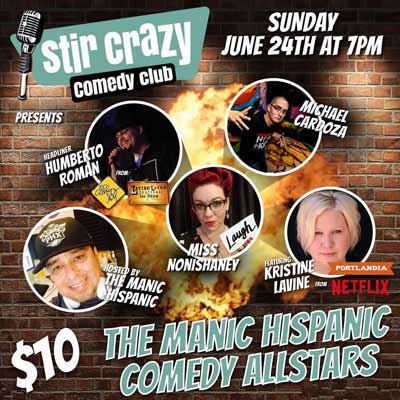 The Manic Hispanic Comedy Allstars