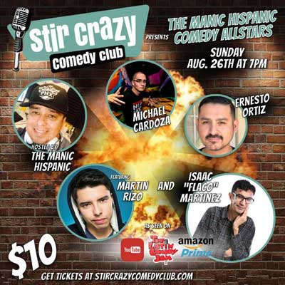 Manic Hispanic Comedy All Stars